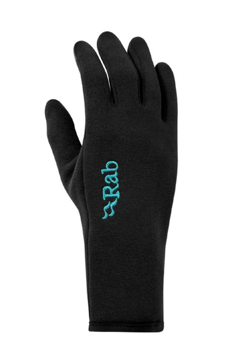 Rab Womens Powerstretch Contact Glove - Touch Screen Compatible